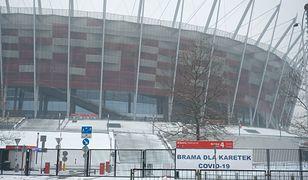Warszawa. Zmienia się miejsce punktu szczepień na Stadionie Narodowym