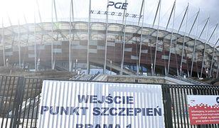Warszawa. W środę nie ma już kolejek do szczepień na Stadionie Narodowym