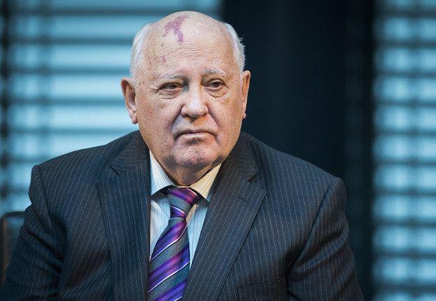 SBU: Gorbaczow ma pięcioletni zakaz wjazdu na Ukrainę