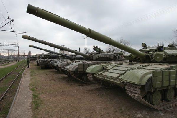 Jedna trzecia żołnierzy ukraińskich na Krymie chce przejść na stronę Rosji