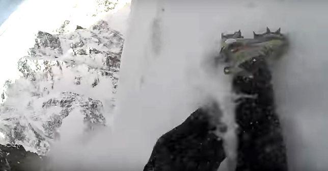 Ekstremalny upadek w Tatrach. Mężczyzna zaczął zsuwać się z Rysów