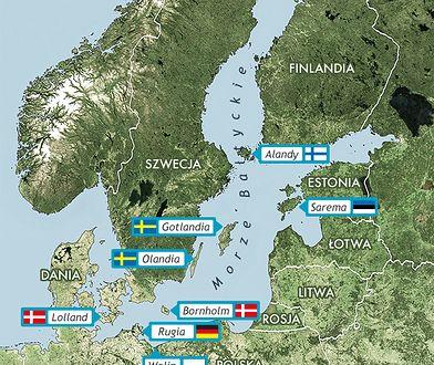Bałtyk - najpiękniejsze wyspy