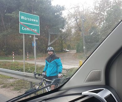 Przejechał pół tysiąca kilometrów dla córki. Cezary walczy o spotkania z dzieckiem