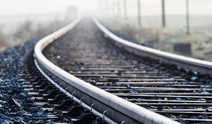 Suchedniów. Na przejeździe kolejowym wykoleiły się dwa pociągi towarowe