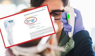 Sprzedawcy żerują na pandemii koronawirusa i ustalają wygórowane ceny np. termometrów.