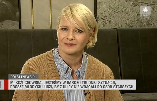 Małgorzata Kożuchowska zabrała głos w sprawie wyroku TK i Strajku Kobiet.