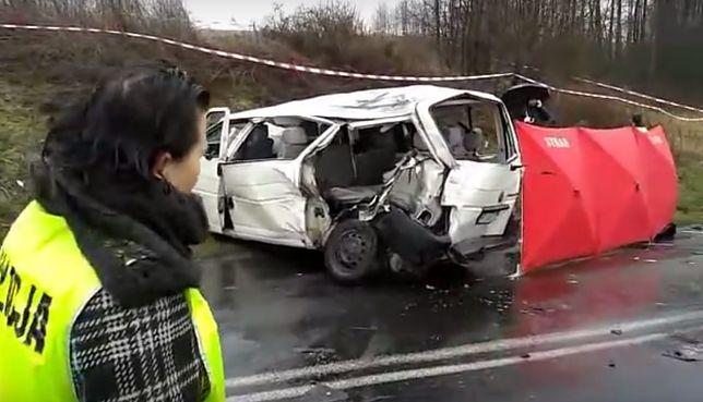 W wyniku wypadku zginęło pięć osób.