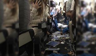 Horror na pokładzie samolotu. Kilkunastu rannych