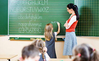 Zasadnicza płaca nauczycieli nieco w górę. Po raz pierwszy od 2012