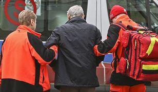 Przed świętami ratownicy mają więcej wyjazdów do starszych osób
