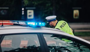 Zatrzymany przez drogówkę kierowca dostał mandat 500 zł oraz 10 punktów karnych