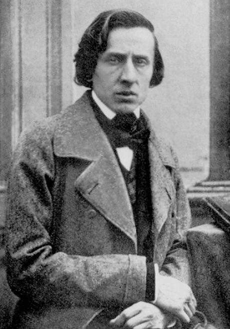 Fryderyk Chopin na zdjęciu z 1849 roku (Louis-Auguste Bisson/domena publiczna)