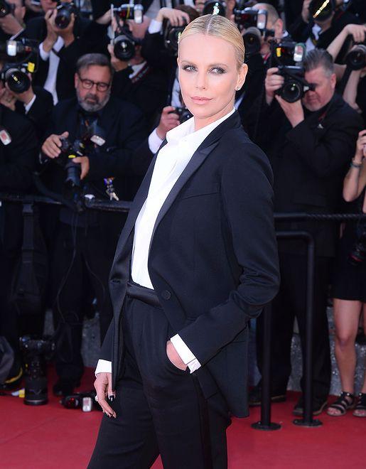 Gwiazda na premierze filmu w Cannes