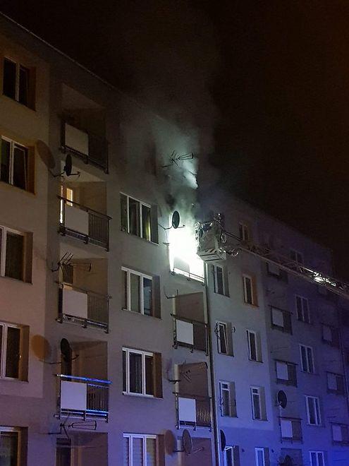 Sosnowiec. Jedna osoba zginęła w pożarze mieszkania.