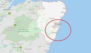 Szkocja. Katastrofa kolejowa w Aberdeenshire