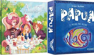 """""""Papua"""" i """"Alicja w krainie słów"""" – dwie świetne gry rodzinne od Egmontu"""