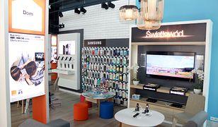 Wnętrze Smart Store Orange.