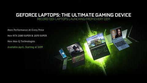 Nvidia GeForce RTX 20 Super w wydaniu mobilnym. Trochę jak PlayStation 5
