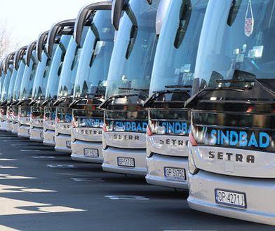 Sindbad to jeden z największych operatorów w autobusowej komunikacji międzynarodowej w Polsce