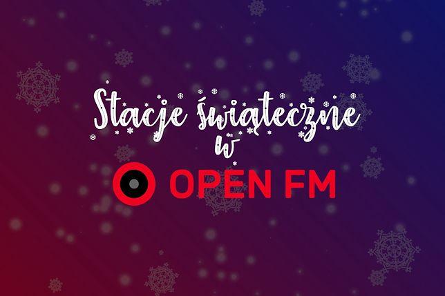 Open FM uruchomiło 6 stacji z muzyką na święta!