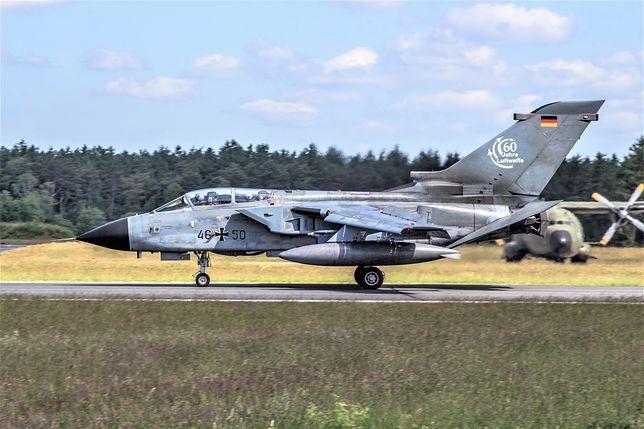 Niemieckie myśliwce przechwyciły samolot pasażerski
