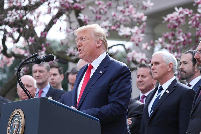 Koronawirus w USA. Donald Trump wprowadza stan zagrożenia w całym kraju