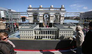 Makieta Pałacu Saskiego
