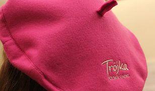 Jednym z gadżetów reklamowych Trójki były różowe berety
