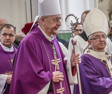 Abp Stanisław Gądecki i abp Sławoj Leszek Głódź.