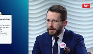 """Wybory prezydenckie 2020. """"Andrzej Duda powinien chodzić w bluzie PiS"""". Radosław Fogiel komentuje"""