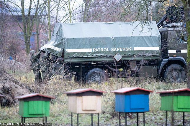 Police: bomba lotnicza przy zakładach chemicznych