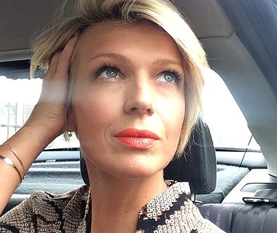 Magda Mołek jest w zaawansowanej ciąży.