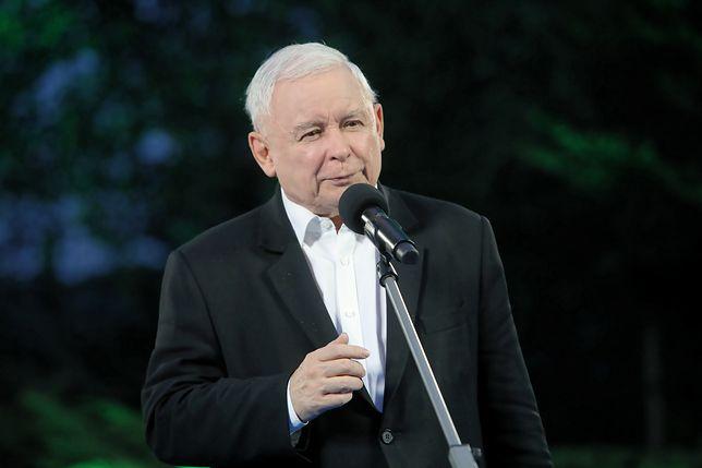 Wybory parlamentarne 2019. Prezes PiS Jarosław Kaczyński na spotkaniu z młodzieżówką