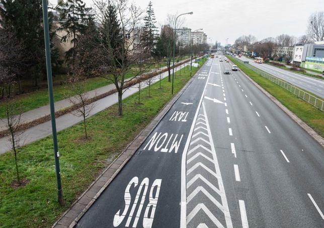 Warszawa. Ratusz planuje kolejne buspasy.
