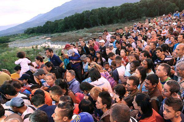 Kolumbia ma problem z imigrantami