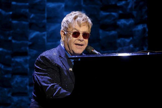 Elton John na celowniku IS. Atak planowany na koncercie