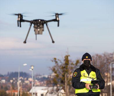 Bielsko-Biała. Truł sąsiadów, namierzył go dron straży miejskiej