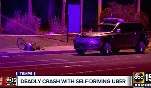Kierowca Ubera odpowie za spowodowanie wypadku. Samochodem autonomicznym