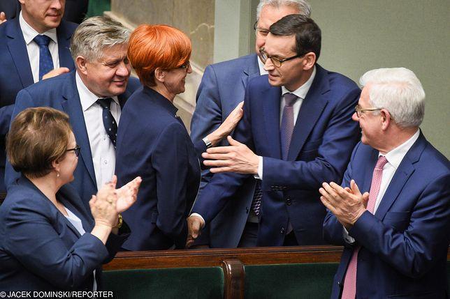 Program 500+ to filar finansowego wsparcia rodziny - mówiła w Sejmie minister Rafalska.