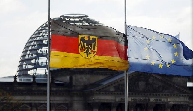Gmach Bundestagu w Berlinie.