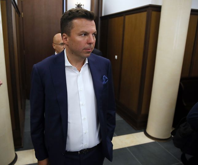 Marek Falenta w Sądzie Okręgowym w Warszawie w 2016 r.