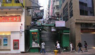Ulica Aberdeen w Hongkongu