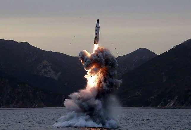 Korea Północna przeprowadziła nową próbę rakietową