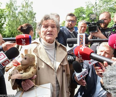 Powstańczyni, której nie wpuszczono do Sejmu, wsparła protestujących
