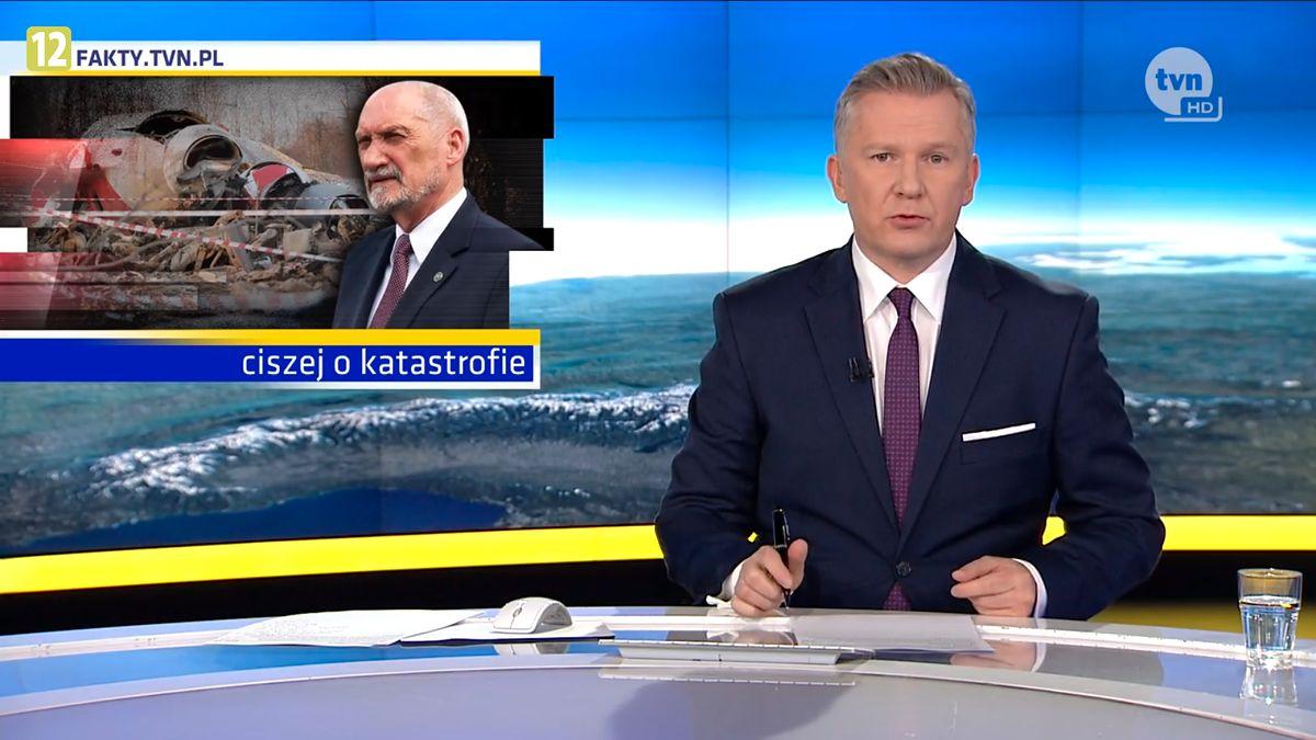 """""""Fakty"""" wzięły się za raport Macierewicza"""