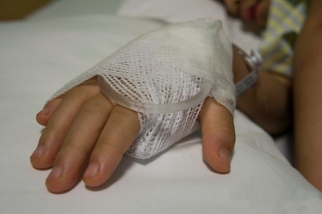 Rodzice nie chcieli, aby ich dziecko leżało w szpitalu obok obcokrajowców