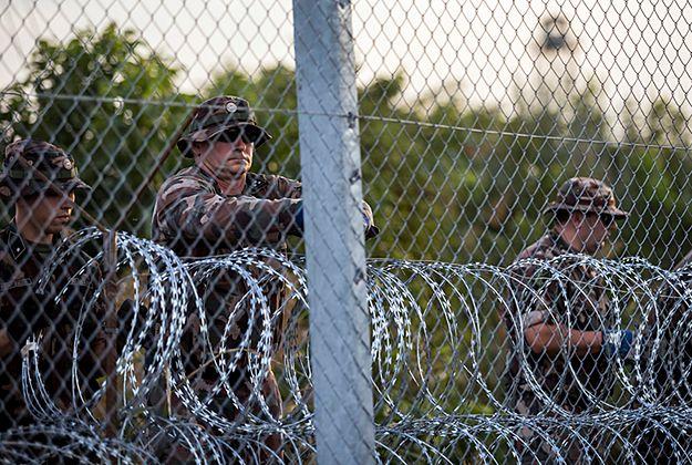 Viktor Orban zapowiada budowę ogrodzenia także na granicy z Chorwacją