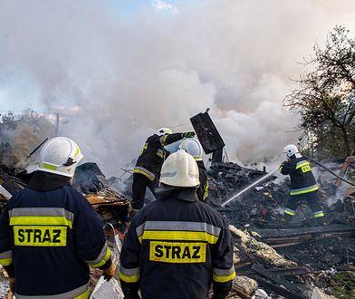 Pożar składowiska odpadów w Pionkach (zdj. ilustracyjne)
