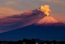 Meksykański wulkan pluje lawą. Ogłoszono alarm