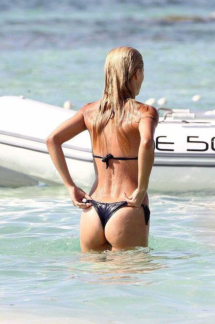 Michelle Hunziker w bikini